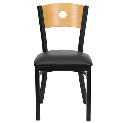 Flash Furniture Hercules Series Circle Back Side Chair