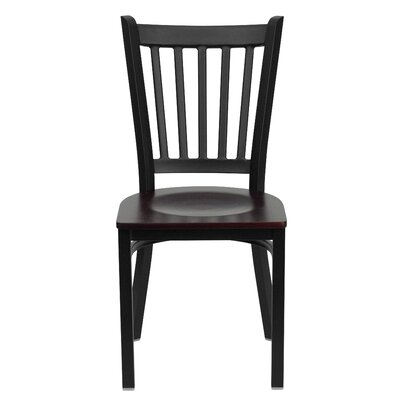 Flash Furniture Hercules Series Vertical Back Side Chair