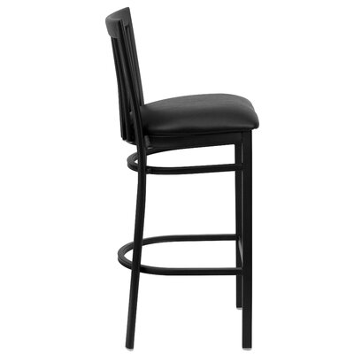 Flash Furniture Hercules Series School House Back Metal Restaurant Bar Stool