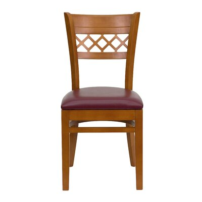 Flash Furniture Hercules Series Lattice Back Side Chair