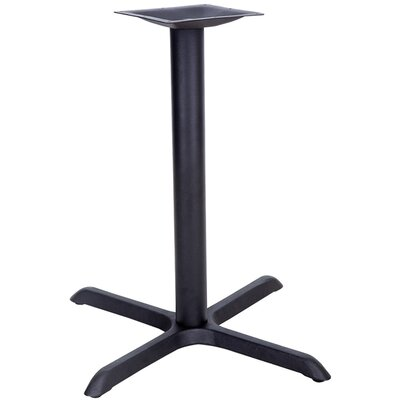 Flash Furniture Restaurant Table X-Base with Table Height Column