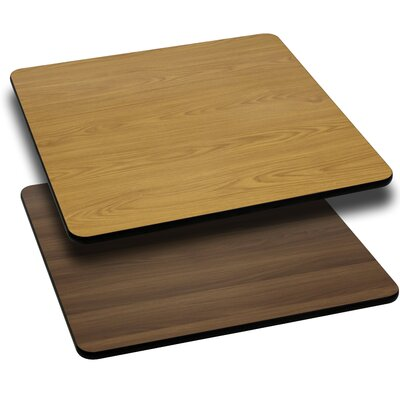 Flash Furniture Square Reversible Laminate Table Top