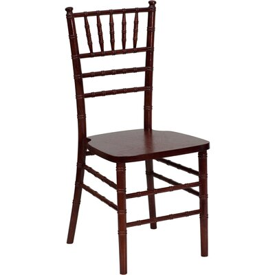 Flash Furniture Flash Elegance Supreme Wood Stacking Chiavari Chair