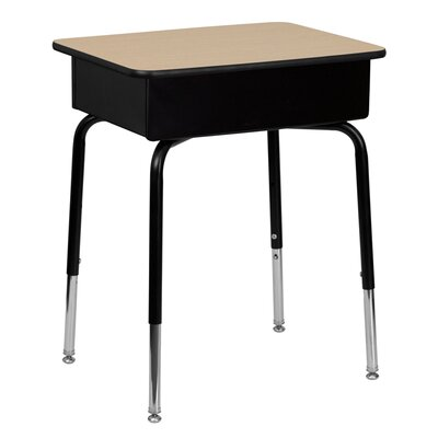 "Flash Furniture Natural Laminate 31"" Student Desk"