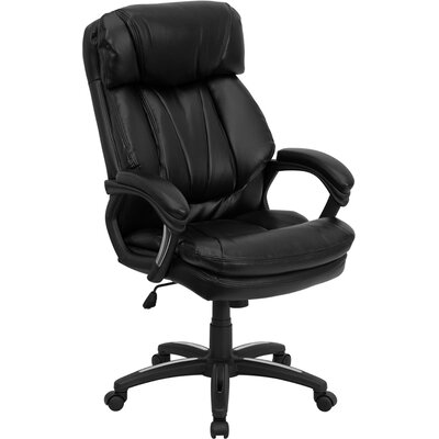 Hercules Series High-Back Leather Executive Chair