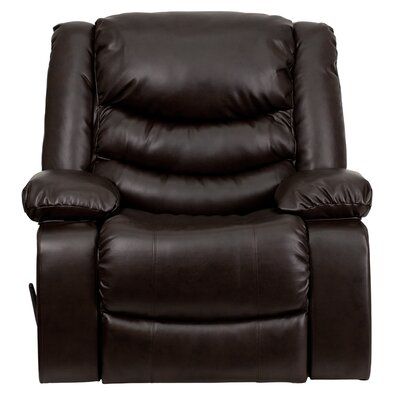 Flash Furniture Leather Chaise Recliner