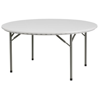 Flash Furniture Round Plastic Folding Table