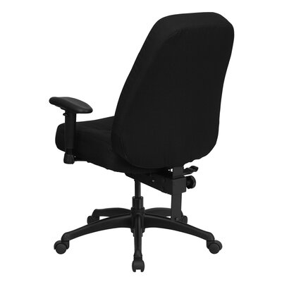 Flash Furniture Hercules Series High Back Big And Tall Fabric Office Chair Wi