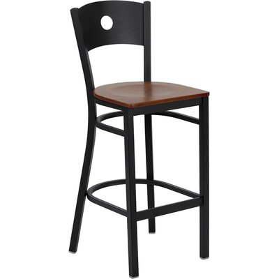 Flash Furniture Hercules Series Circle Back Metal Restaurant Bar Stool