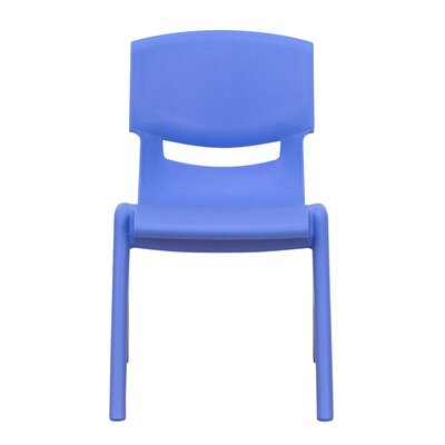 "Flash Furniture 10.5"" Plastic Stackable Classroom Chair"