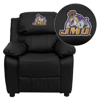Flash Furniture NCAA Embroidered Kid's Recliner
