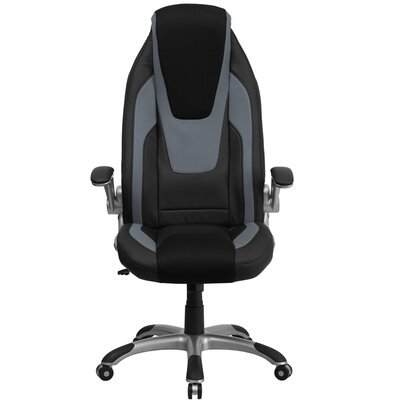 High-Back Mesh Executive Office Chair with Flip Up Arms