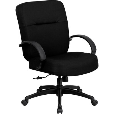 Flash Furniture Hercules Series High-Back Big and Tall Fabric Office Chair with Arms