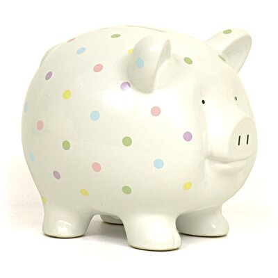 Child to Cherish Confetti Large Piggy Bank