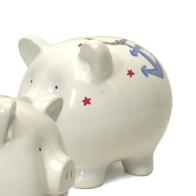 Child to cherish wayfair - Nautical piggy banks ...