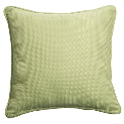 Mastercraft Fabrics Outdoor/Indoor Vibrant Copeland Pesto Pillow in Green
