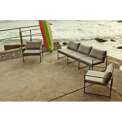 Harbour Outdoor Breeze Deep Seating Group with Cushion