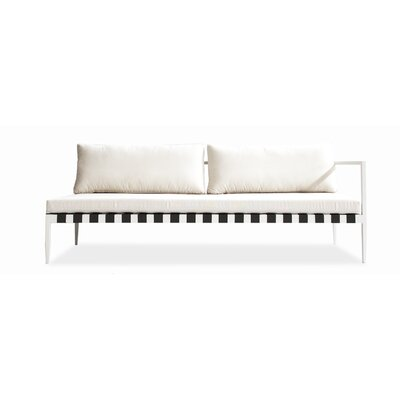 Pier Left Arm Deep Seating Sofa with Cushions