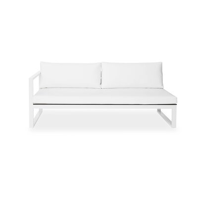 Harbour Outdoor Piano Right Arm Deep Seating Sofa with Cushions