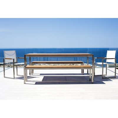 Harbour Outdoor Garden Court Bench Seating Group