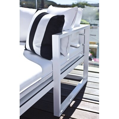 Harbour Outdoor Piano Deep Seating Sofa with Cushions