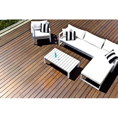 Harbour Outdoor Piano 4 Piece Seating Group