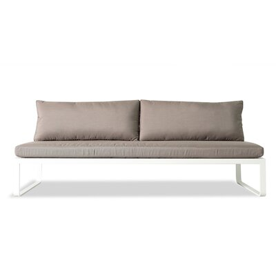 Clovelly Armless Deep Seating Sofa with Cushions