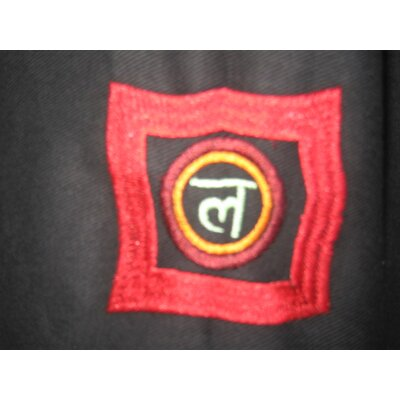 OMSutra Chakra Duffel Yoga Mat Bag in Black