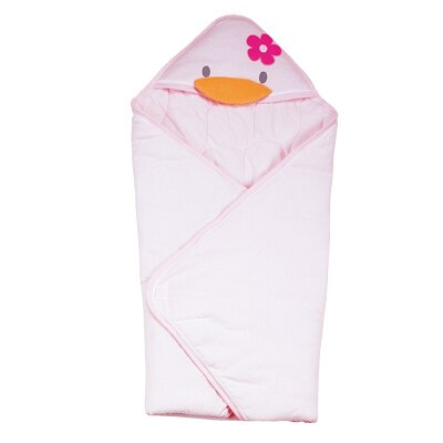 Piyo Piyo Stylish Winter Receiving Blanket in Pink