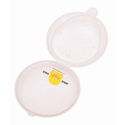 Piyo Piyo Round Teether with Anti-bacterial Case