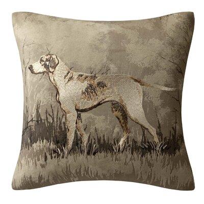 Hadley Printed Dog Square Pillow
