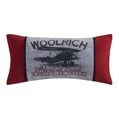 Williamsport Embroidered Oblong Pillow
