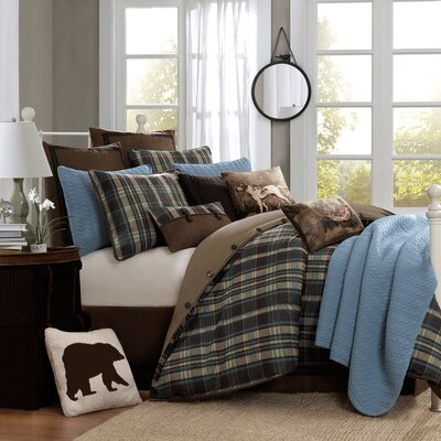 Hadley Plaid Bedding Collection