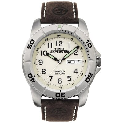 Expedition Analog Leather Watch