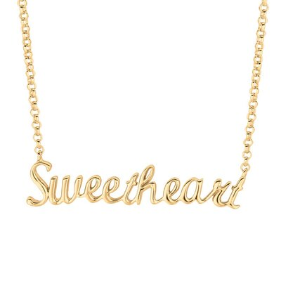 Silver on the Rocks Silver Expression Sweetheart Necklaces