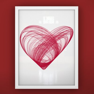 LittleLion Studio Prints Heart Framed Art