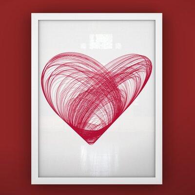 Prints Heart Framed Art