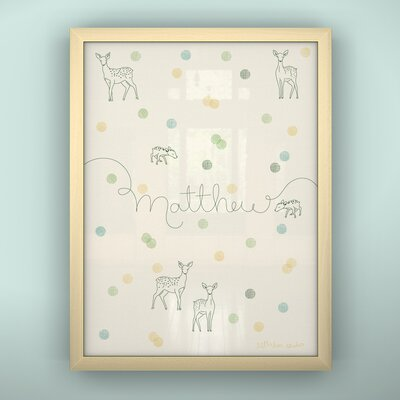 LittleLion Studio Prints Confetti Framed Art