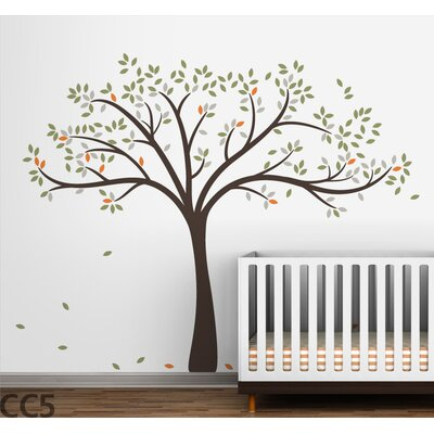 LittleLion Studio Fall Tree Wall Decal