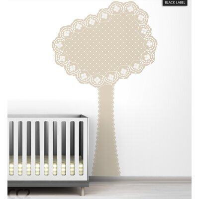 LittleLion Studio Eyelet Tree Black Label Wall Decal