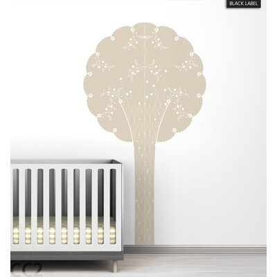LittleLion Studio Cornet Tree Black Label Wall Decal