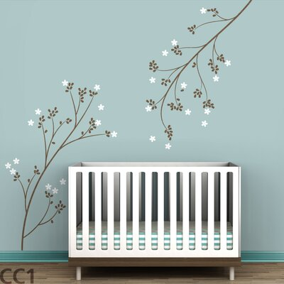 LittleLion Studio Blossom Branches Wall Decal