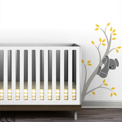 LittleLion Studio Koala Branch III Wall Decal