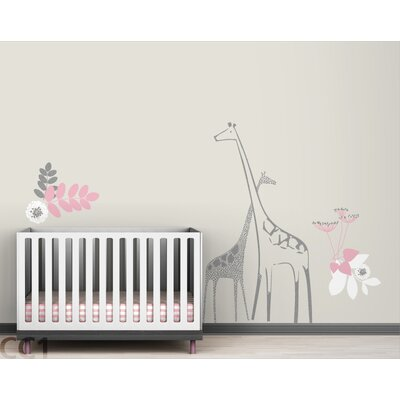 LittleLion Studio Fauna Backyard Nursery Wall Decal