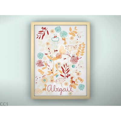 LittleLion Studio Botanical Garden and Little Friends Print