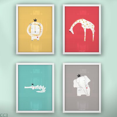 LittleLion Studio Royal Safari Print Set