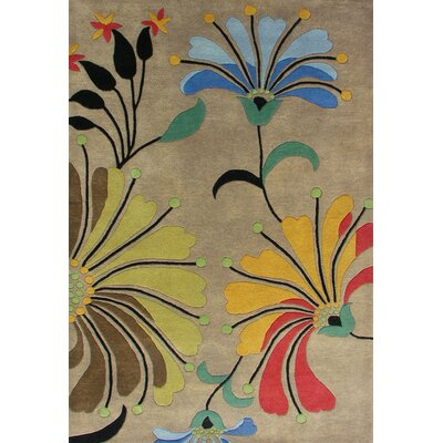 Casablanca Eastern Dark Brown Contemporary Rug