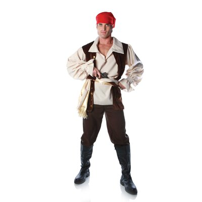 Underwraps Caribbean Pirate Costume