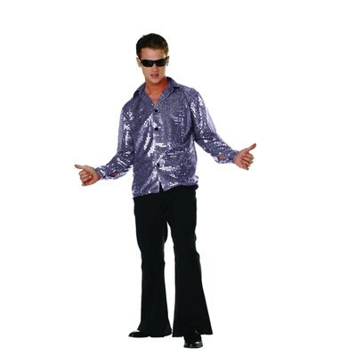 RG Costumes Disco Inferno Adult Costume in Black