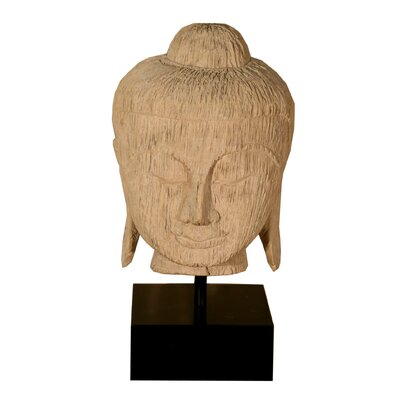 Phillips Collection Carved Buddha Head Statue